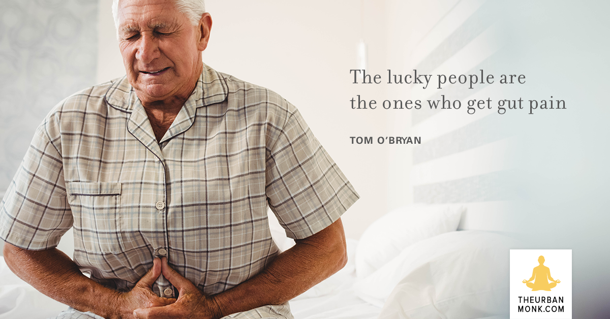 The Lucky People Are The Ones Who Get Gut Pain - @theDr_com via @PedramShojai
